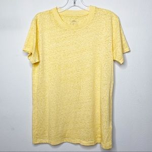Urban Outfitters Yellow Short Sleeve Shirt